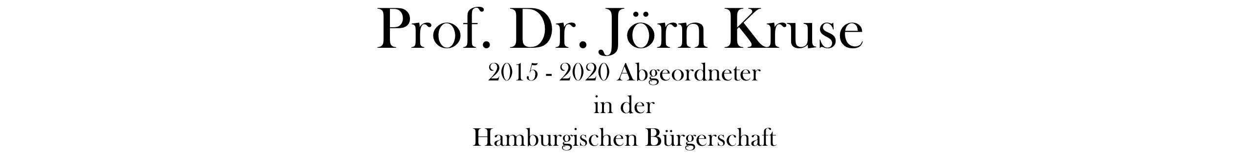 Prof. Jörn Kruse